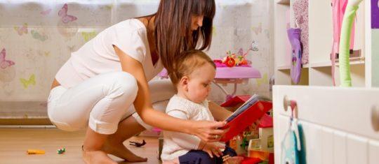 un babysitter