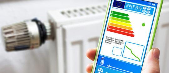 radiateur via Smartphone