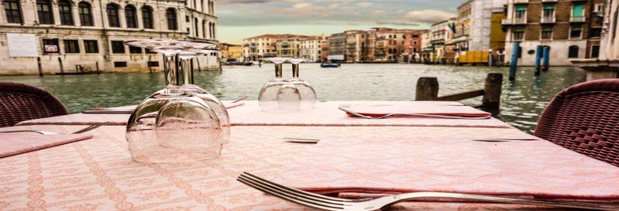 Trouver un restaurant bon marché à Venise