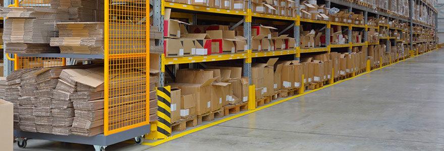 Protections anti-chocs pour entrepôts