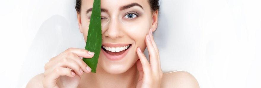 Soigner les maladies de la peau avec de l'Aloe Vera